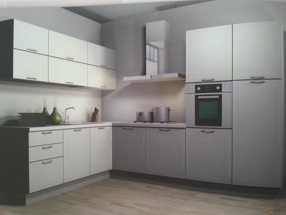Pulire cucina laminato opaco amazing wega di arredo - Cucine senza pensili sopra ...