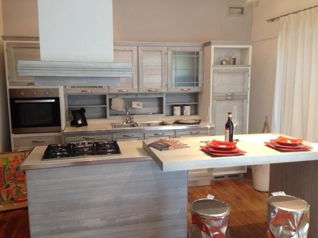 Cucina in offerta con isola di zappalorto   cucine a prezzi scontati