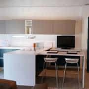 cucina con penisola arrital moderna scontata del 60