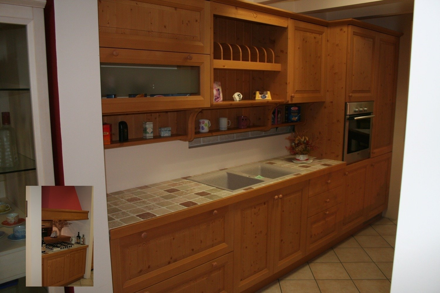 Cucine lineari 360 country - Cucine low cost ...