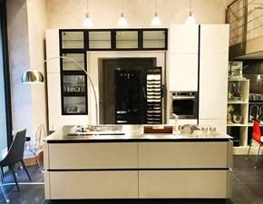Cucina Zetasei|time  moderna bianca ad isola Arredo3