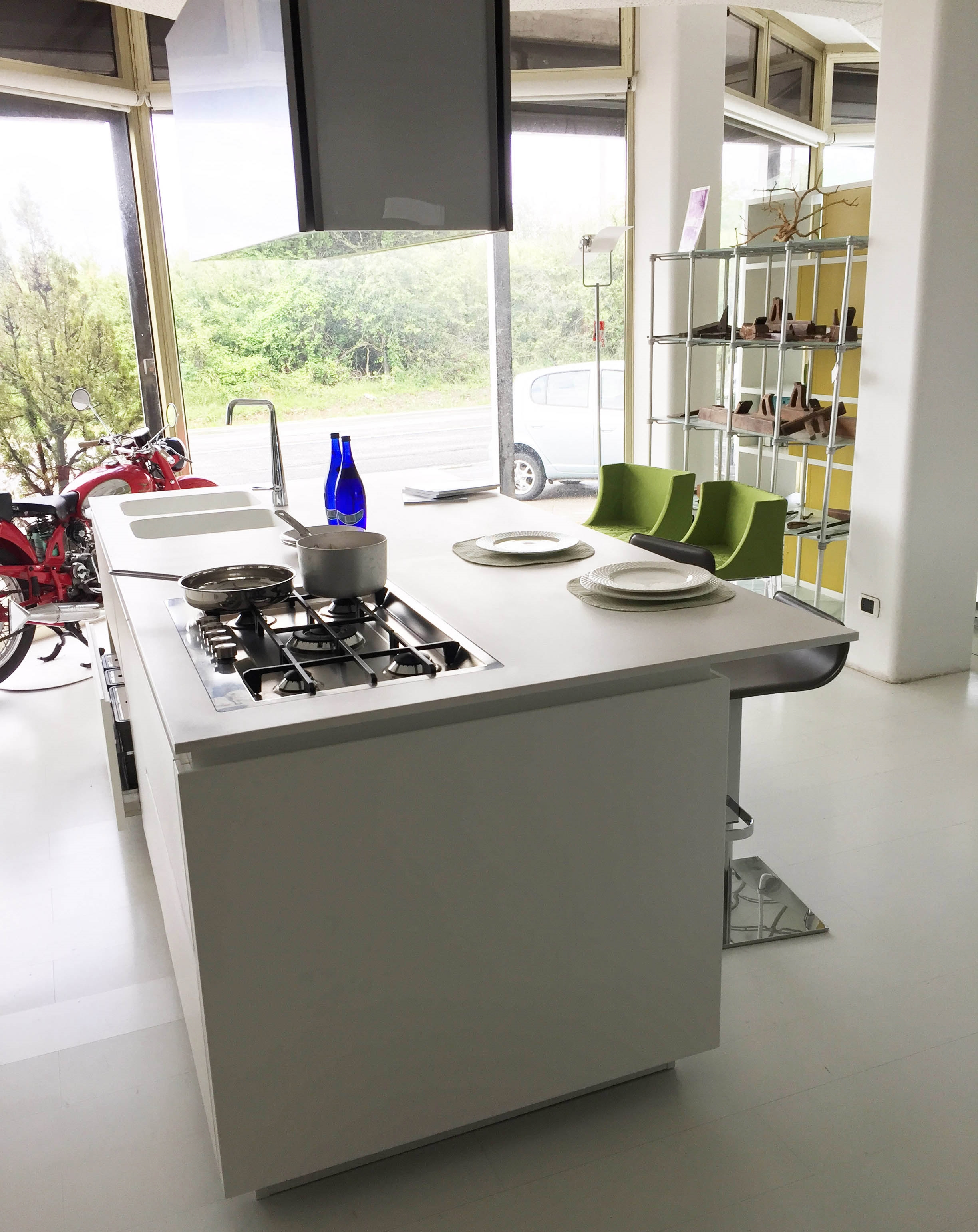 cucina con isola misure cucine moderne a isola with