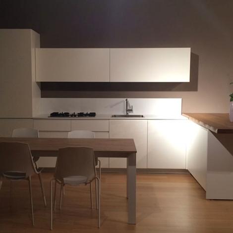 outlet Cucine con penisola Del Tongo modello Amalfi Full Sconto 50%