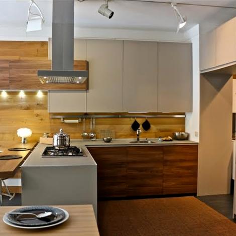 Best cucina demode forma moderna laminato materico tortora - Cucine valcucine opinioni ...