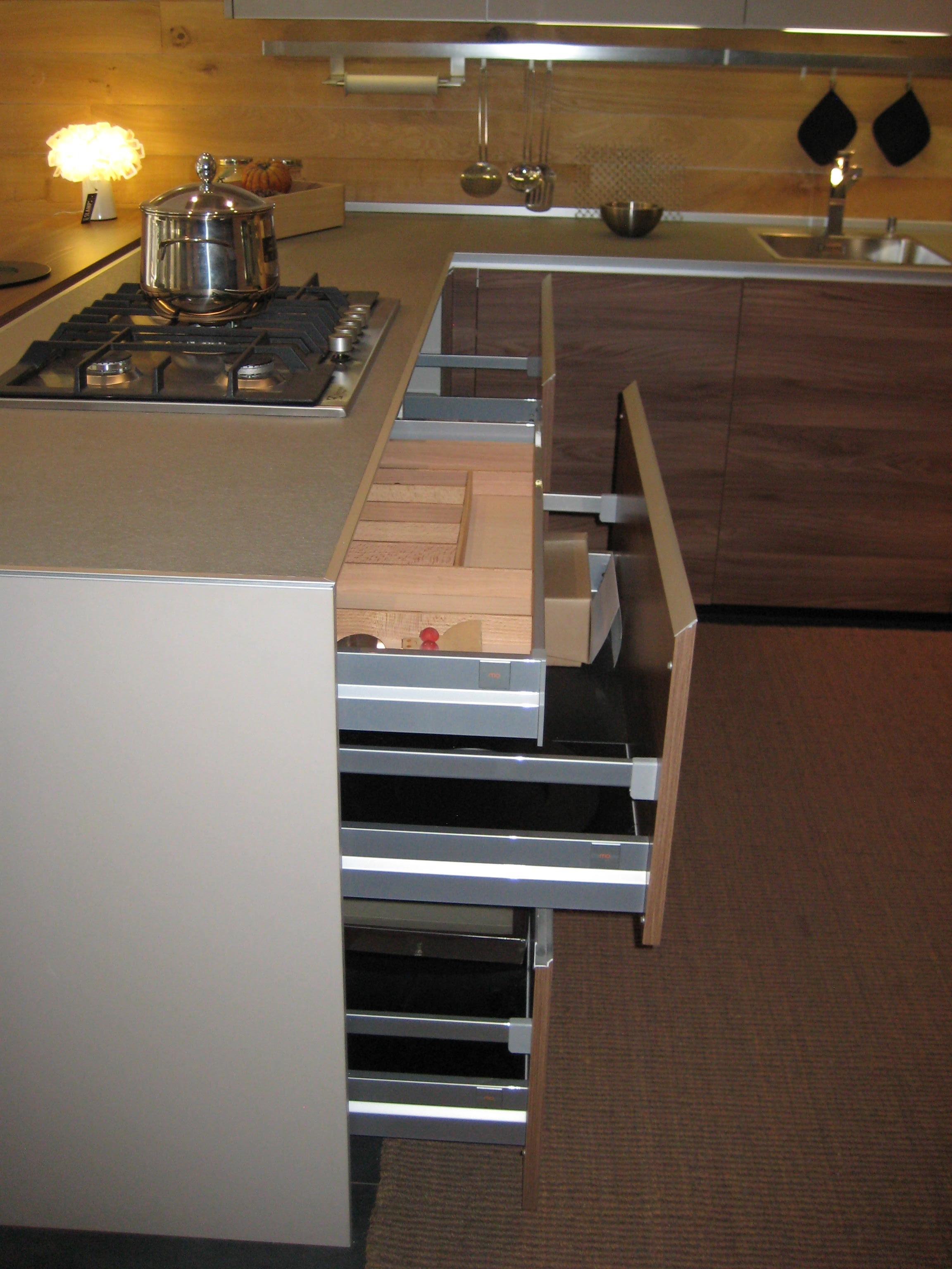 Cucina valcucine demode forma moderna laminato materico - Top cucina laminato opinioni ...