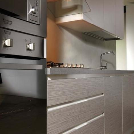 Astra cucine cucina combi moderna laccato opaco cucine a prezzi scontati - Colonna forno e microonde ...