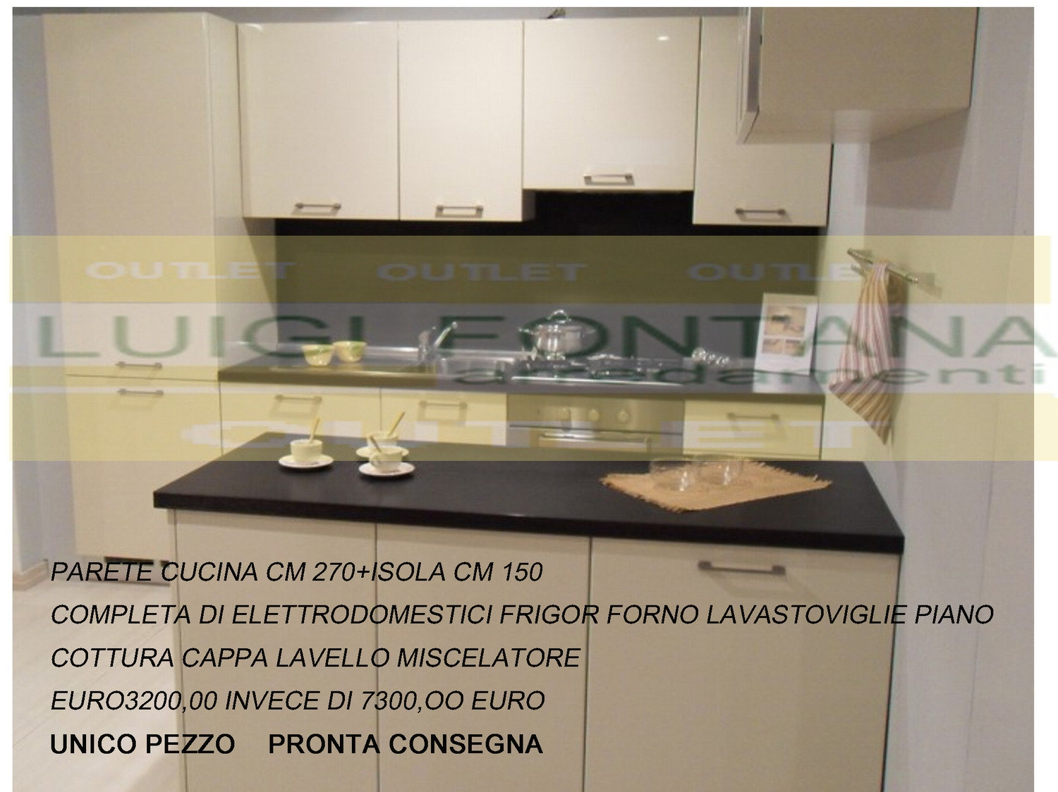 CUCINE OUTLET SCONTATISSIME
