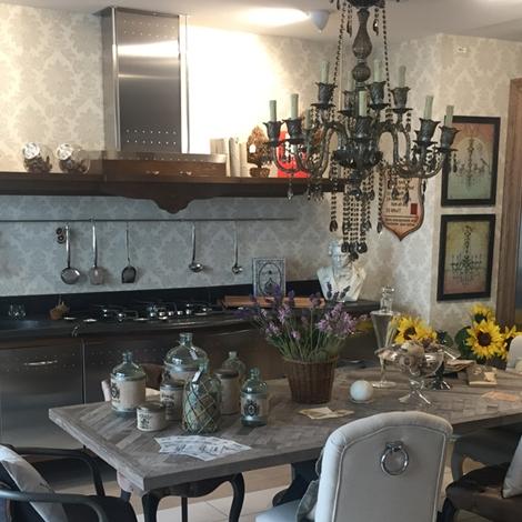 Cucina lineare Marchi Group modello Dechora con struttura per ...
