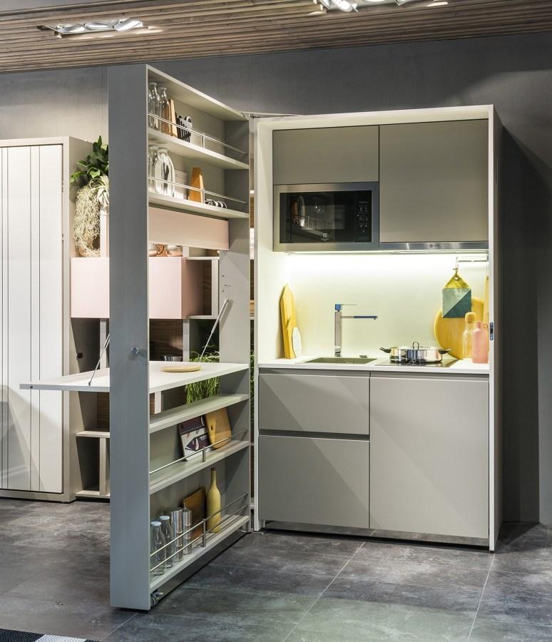 Cucina a scomparsa di clei kitchen box forti sconti sul nuovo cucine a prezzi scontati - Cucina a scomparsa prezzi ...