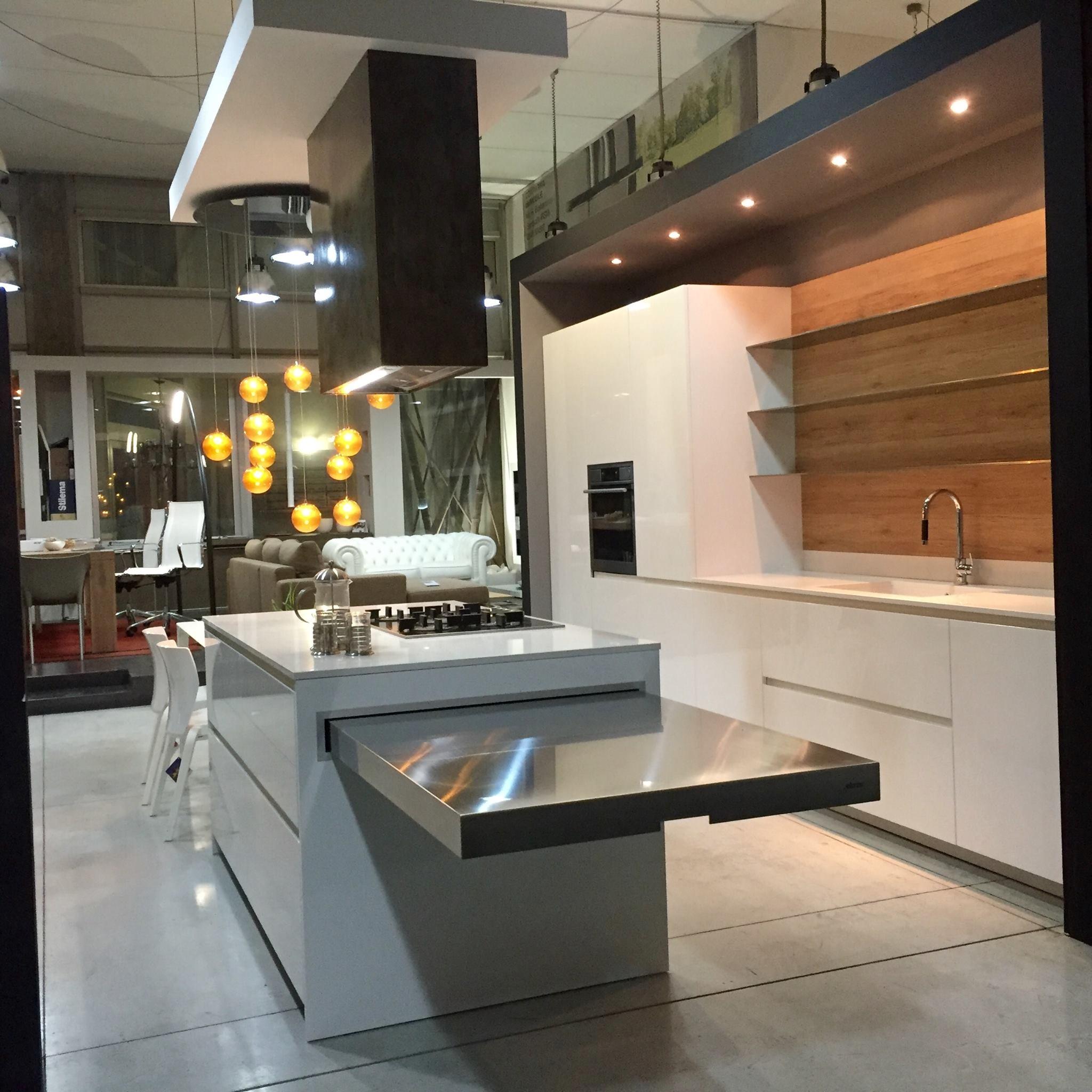 Elmar Cucine Cucina Easy Bianca lucido,Design - Cucine a prezzi ...