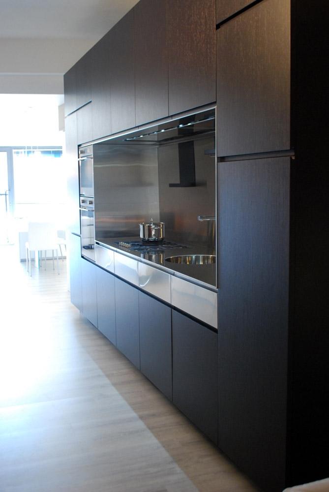 Elmar Cucine Cucina El_01 Design Legno rovere moro - Cucine a ...
