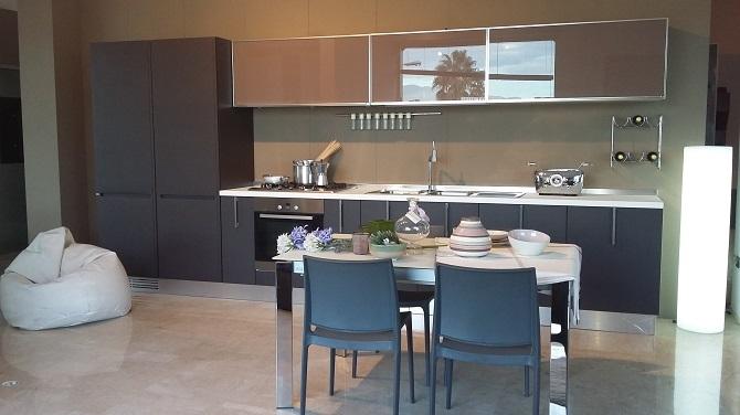 ernestomeda cucina lineare Fusion - Cucine a prezzi scontati
