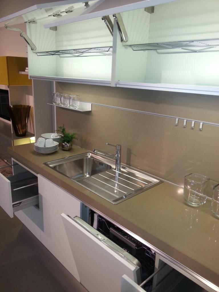 Cucine Ernestomeda Prezzo : Ernestomeda cucina one laccato lucido cucine