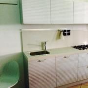 Cucina Ernestomeda modello Silverbox in alluminio dogato