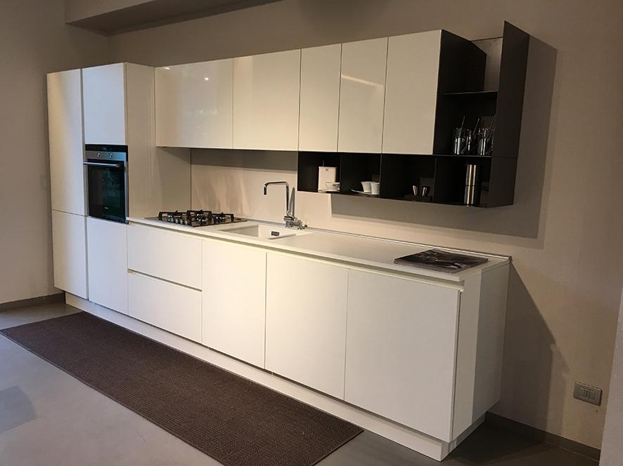 Emejing Cucina Rovere Sbiancato E Bianco Contemporary ...