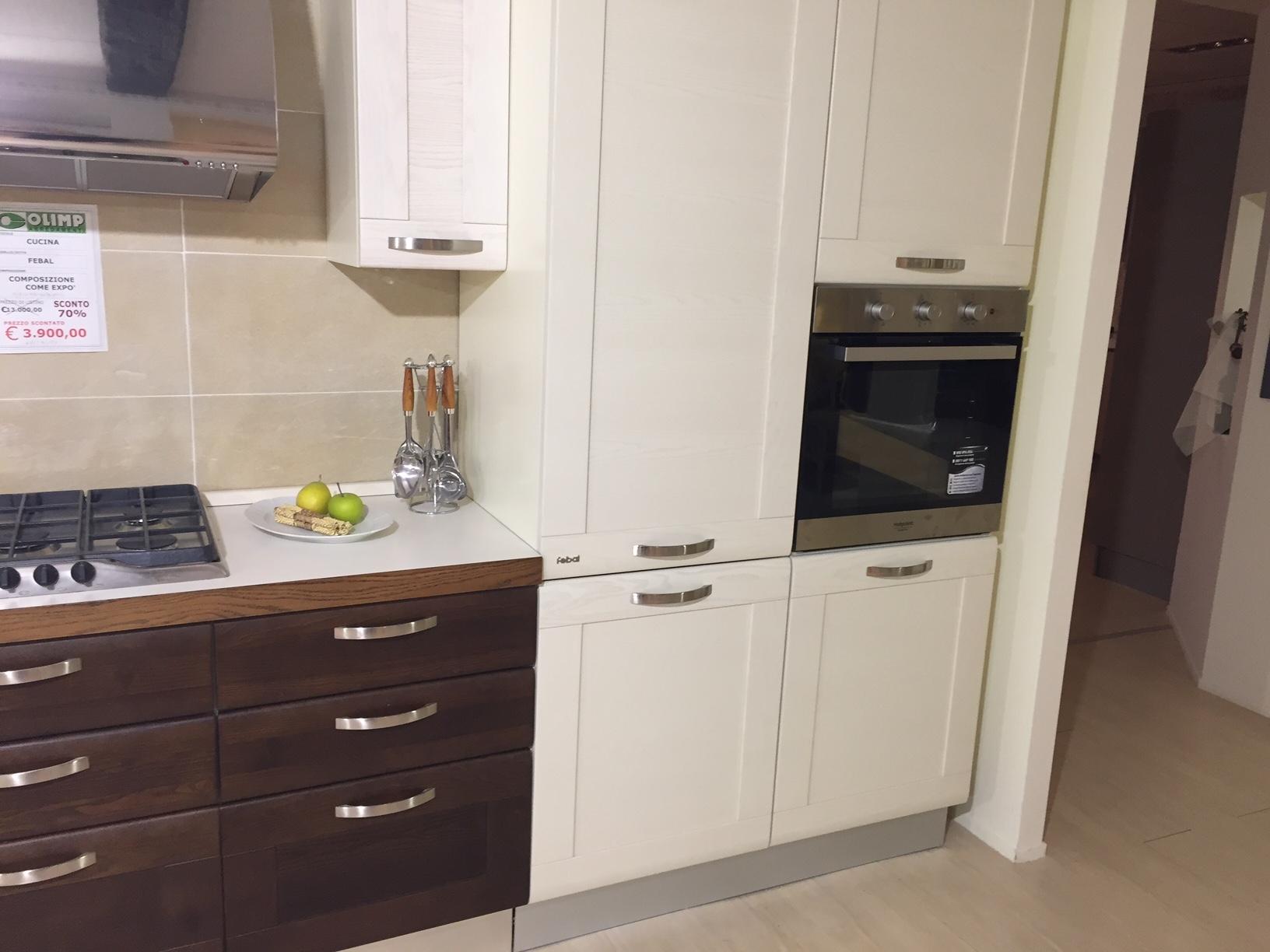 Febal cucina kelly moderne legno magnolia cucine a - Febal cucine prezzi ...