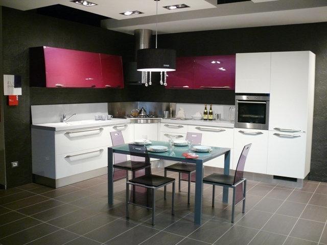Flux by giugiaro design 3775 cucine a prezzi scontati for Isola cucina circolare