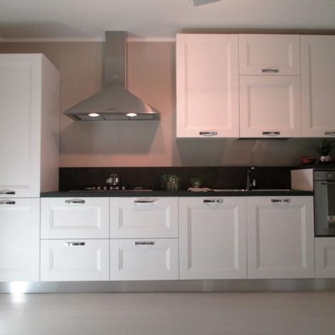 Forma 2000 cucina asia moderno laminato materico bianca cucine a prezzi scontati - Schienale cucina laminato ...