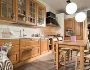 disposizione cucina baltimora con colonne a destra