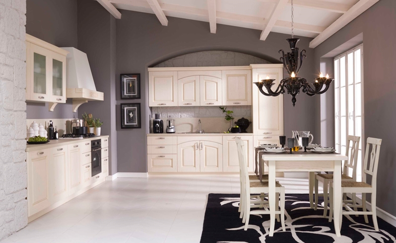Gentili cucine cucina cucina in legno scontato del 30 cucine a prezzi scontati - Cucine particolari ...