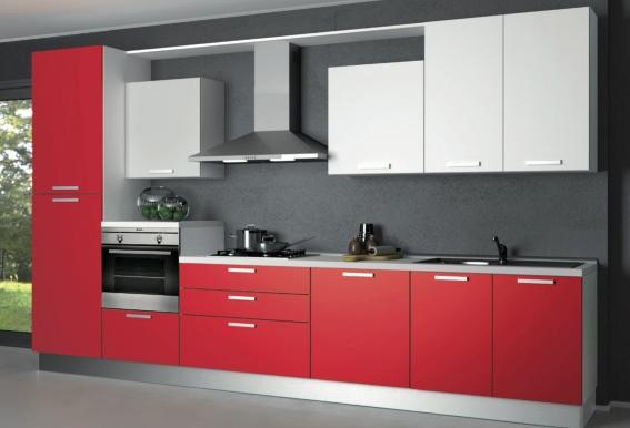 Cucine moderne cucine moderne lineari 4 metri - Cucina 4 metri lineari prezzi ...