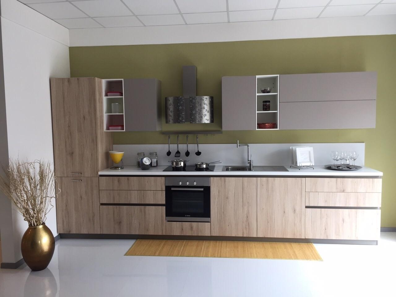 Cucina lineare dibiesse scontata del 30 cucine a prezzi scontati - Dibiesse cucine prezzi ...