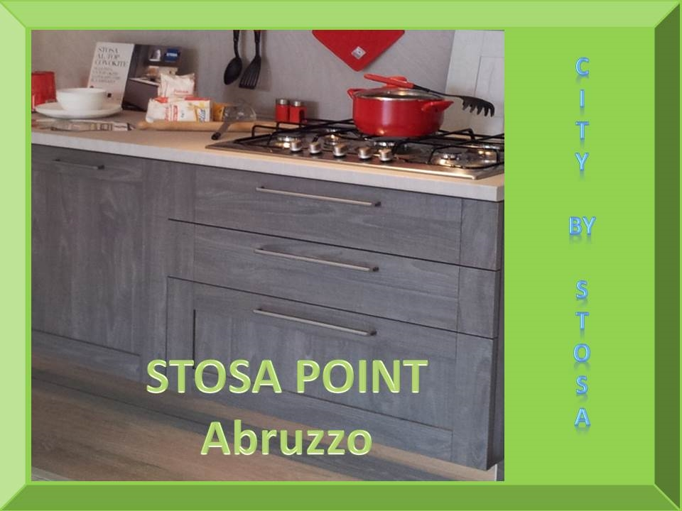 Stosa Cucine Cucina City by stosa cucine in varie finiture scontato del -58 %