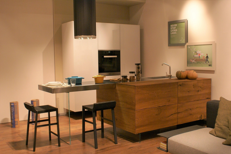 Lago cucina air kitchen wildwood e acciaio cucine a for Lago outlet arredamento