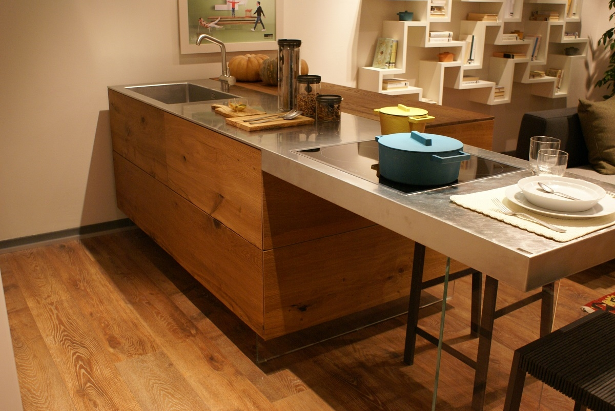 Lago cucina air kitchen wildwood e acciaio cucine a for Lago wildwood