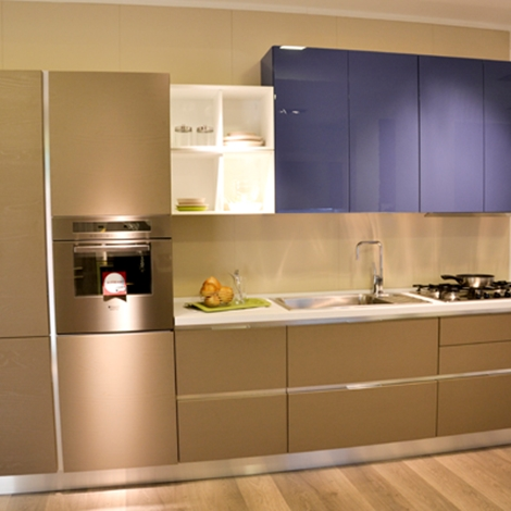 Cucina lineare lube modello essenza cucine a prezzi scontati - Cucina essenza lube ...