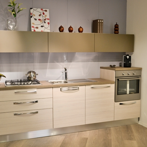 Cucina lineare lube cucine martina cucine a prezzi scontati - Cucina compatta prezzi ...