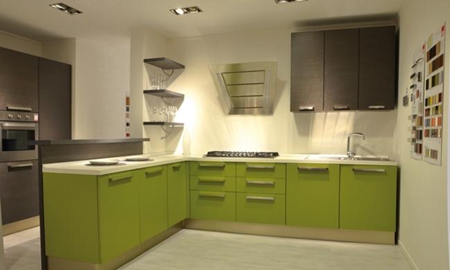 Cucine Lube cucine lube offerte : Cucine Lube Prezzi E Modelli: Cucina e zona living modello agnese ...