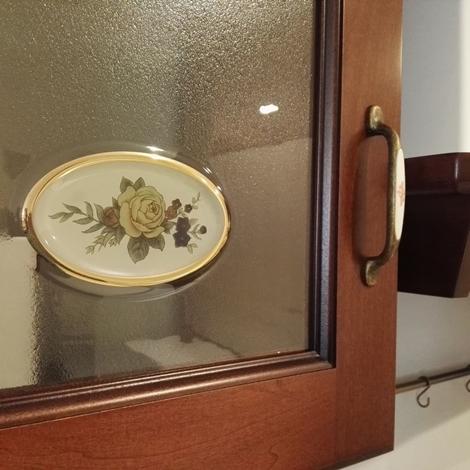 Cucina Scavolini Madeleine Classica Legno noce - Cucine a prezzi scontati