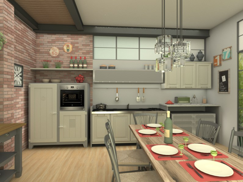 Marchi cucine nolita composizione 10 scontato del 38 - Marchi cucine outlet ...