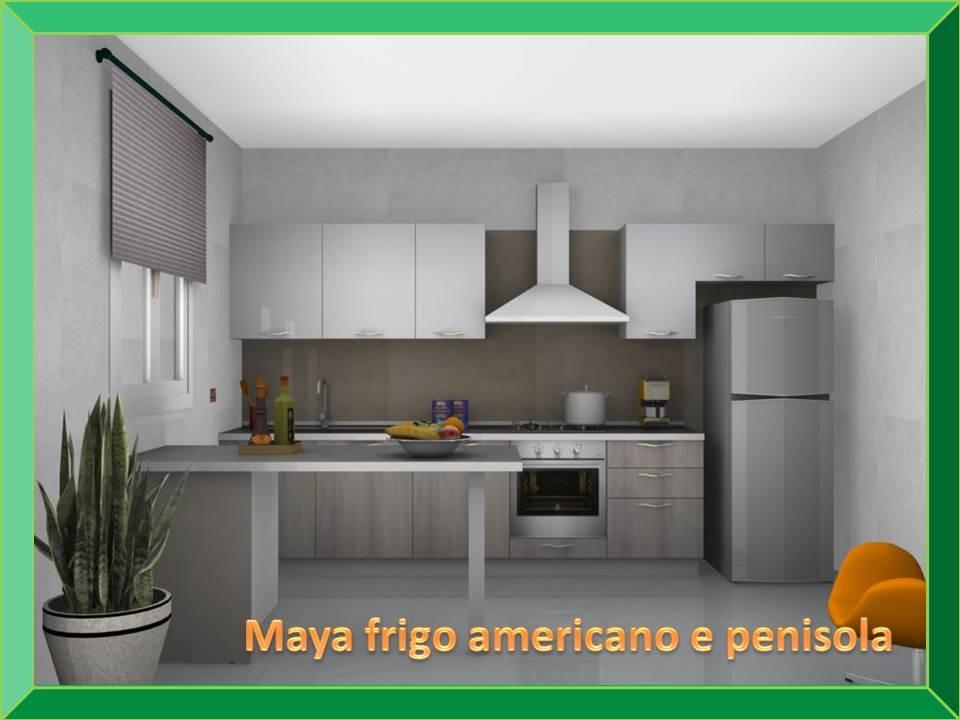 Cucine con frigo a vista - Cucine a 1000 euro ...