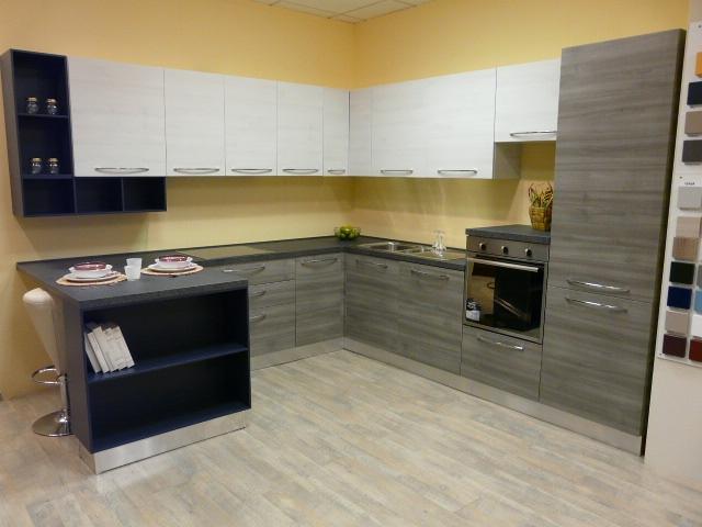 Mobilturi cucine cucina cucina modello gaia moderna laminato materico cucine a prezzi scontati - Cucine mobilturi ...