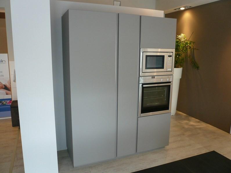 Cucina modulnova light design laccato opaco bianca - Cucine modulnova prezzi ...