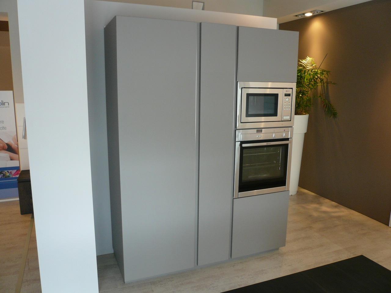 Cucina Modulnova Light Design Laccato Opaco bianca - Cucine a ...