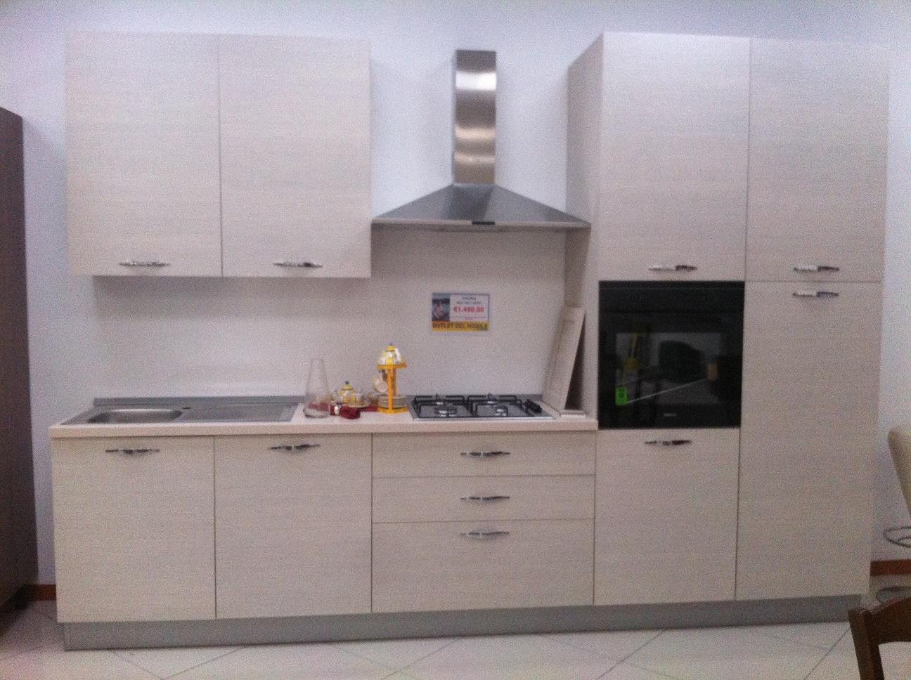Net Cucine Cucina Giò larice scontato del -50 % - Cucine a prezzi ...