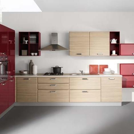Netcucine cucina moderna ad angolo con elettrodomestici cod 07 cucine a prezzi scontati - Cucina moderna ad angolo ...