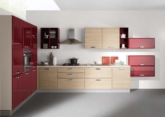 Netcucine cucina moderna ad angolo con elettrodomestici - Gruppo 5 cucine ...