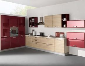 NetCucine - Cucina moderna ad angolo con elettrodomestici cod. 07
