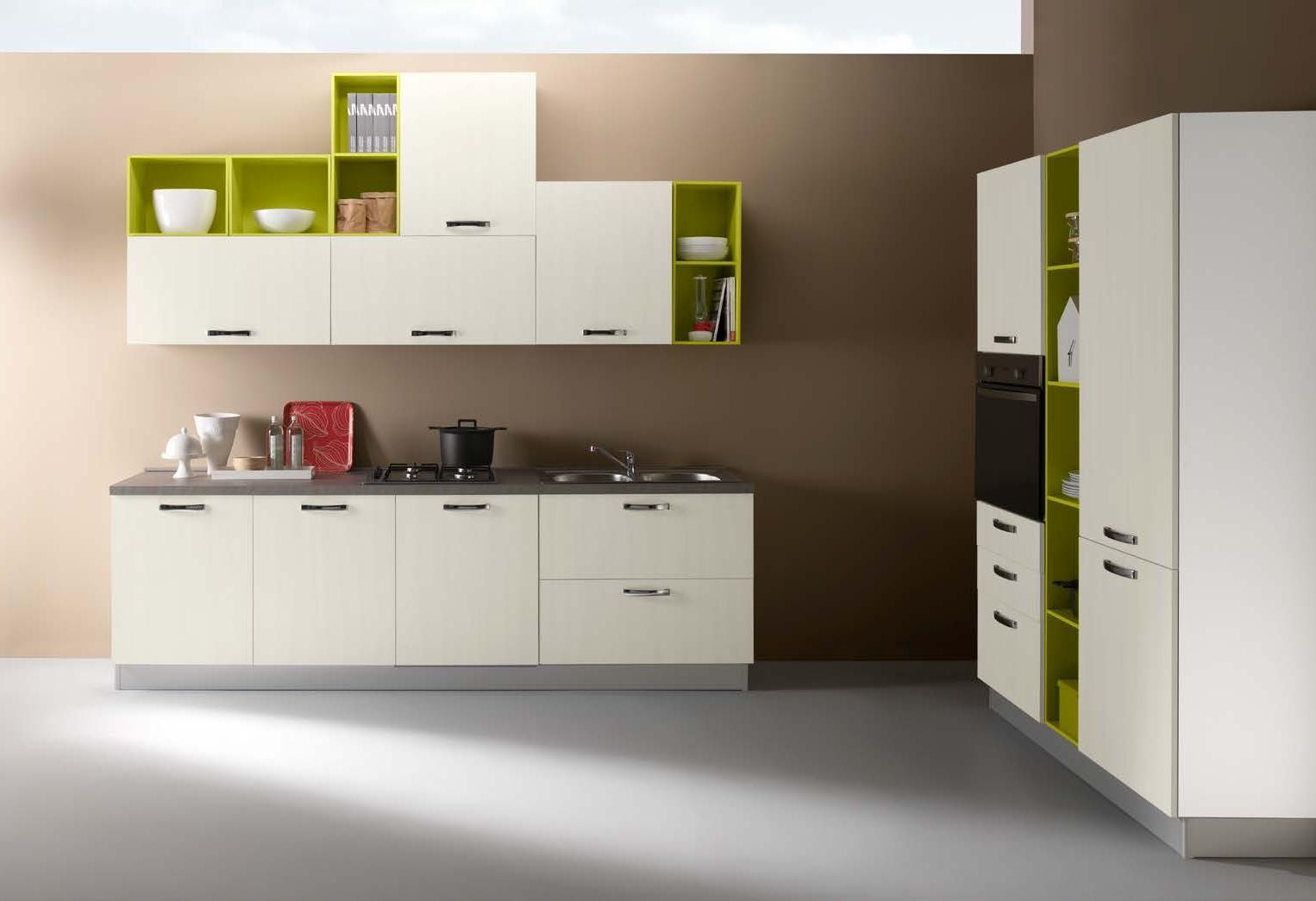 Netcucine cucina in stile moderno con elettrodomestici - Cucina con elettrodomestici ...