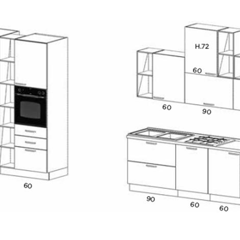 Netcucine Cucina In Stile Moderno Con Elettrodomestici Inclusi Cod 18 Spedizione Gratuita