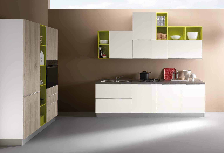 NetCucine - Cucina in stile moderno con elettrodomestici inclusi ...