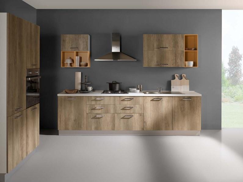 NetCucine - Cucina in stile moderno con elettrodomestici inclusi cod. 19