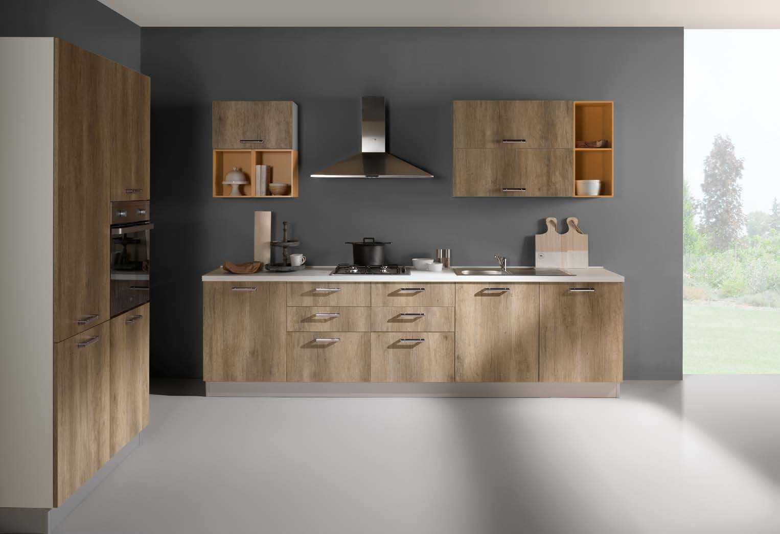 Netcucine Cucina In Stile Moderno Con Elettrodomestici Inclusi Cod 19 Spedizione Gratuita