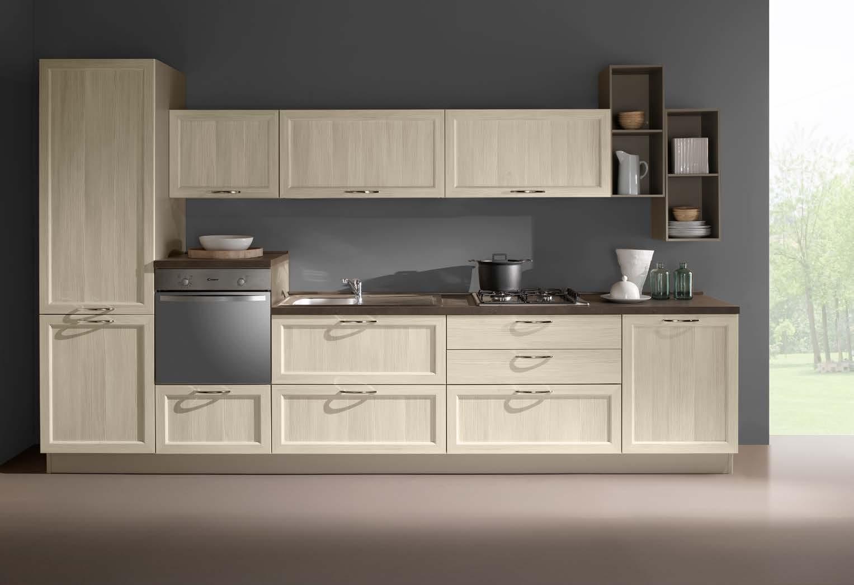 Cucina lineare in stile contemporaneo in offerta cucine for Cucina lineare offerta