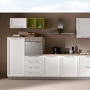 NetCucine - Cucina lineare in stile contemporaneo con elettrodomestici inclusi cod. 15