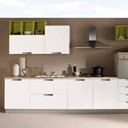 NetCucine - Cucina lineare in stile moderno con elettrodomestici inclusi cod. 16